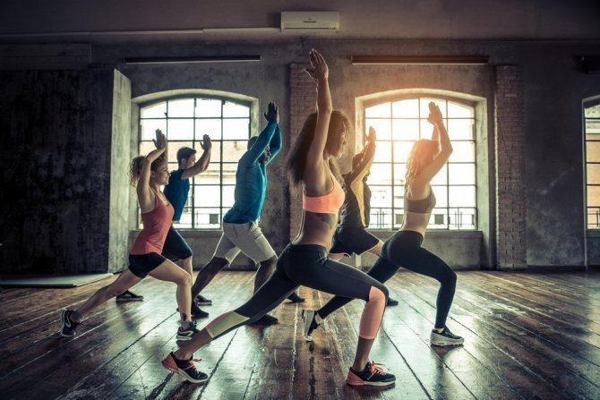 Групповые занятия в фитнес клубе – ожидания и реальность